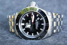 Special Edition Deep Blue DayNight MIL OPS Tritium T-100  Diver's Watch Black Ex