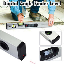 400mm LCD Electronic Digital Angle Finder Meter Protractor Dual Spirit Level HOT