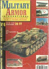 MILITARY ARMOR N°04 GMC PORTE FLOTTEUR / OPEL SDKFZ / PAK 40 /PATRIOT / GMC 352
