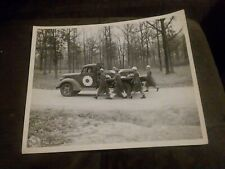 1944 WW2 Official Photo 1st POW Funeral At Fort Sheridan