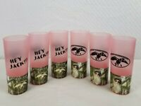 Duck Commander Duck Dynasty Uncle Si Tea Cup 16 Oz Green drink ware 6 pcs. PINK