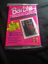 Brand New Collectible 1991 Barbie Trading Cards