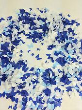 Blue Biodegradabile CORIANDOLI FARFALLA whiteeco amichevole Borsa grande WEDDING UK