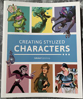 CREATING STYLIZED CHARACTERS Book By 3dtotal Design Art How To Draw NEW