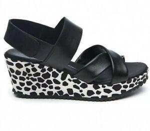sz 42 /11 TS TAKING SHAPE Portsea Wedge Wide Fit Shoes NIB rrp $180