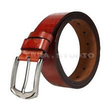 Men Waistband Luxury Leather Belt Pin Buckle Belt Casual Waist Strap Belts