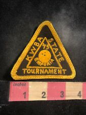 Vintage 1975 Kansas State Tournament Emporia Bowling Patch 94Ll