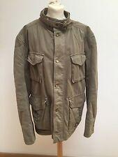 D & G Khaki Military Style Men's Jacket - Label Size 54
