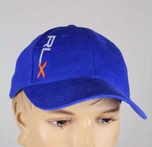 Ralph Lauren RLX Sport Blue Baseball Ball Cap Hat S/M NWT