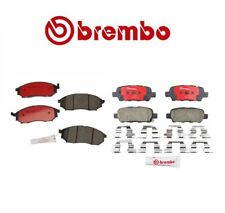 Front & Rear Disc Brake Pads Brembo for Infiniti FX35 G25 G35 M35 M45