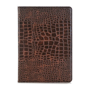 """For iPad 7th/8th Gen 10.2"""" Crocodile Pattern Leather Wallet Stand Case Cover"""