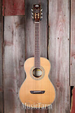Washburn WP11SNS Parlor Body Acoustic Guitar Solid Cedar Top Slight Flaw