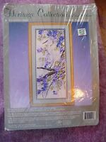 Rare Enchanted April Heritage Collection Crewel Embroidery Kit by Elsa Williams