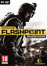 Operation Flashpoint Dragon Rising - PC - Brand New & Factory Sealed