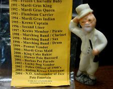 2004 Haydel's king cake doll PETE FOUNTAIN  Mardi Gras New Orleans haydel