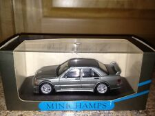 Minichamps Mercedes 190 E Evo 1 Street Pearl Grey Metallic 1:43 Ultra Rare Find*