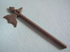 LEGO 6123 @@ Minifig, Weapon Halberd Elaborate - Dark Bluish - 8813 8823 10176