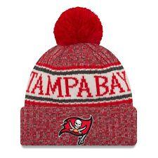 half off 12c0c 1b1dd Tampa Bay Buccaneers Knit Hat 2018 NFL Sideline Cold Weather Era Official