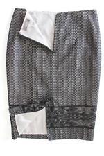 Jacqui E Nylon Knee-Length Regular Size Skirts for Women