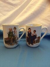 Lot Of 2 Norman Rockwell Cups