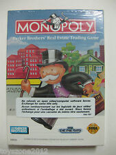 Sega GENESIS Monopoly USED CONDITION