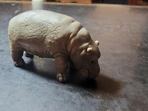 Vintage 1996 Schleich Hippo Hippopotamus Figure *BUY 2 GET 1 FREE*