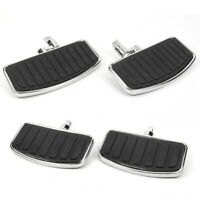Front Rear Floorboard Footboards Pedals For Harley Sportster Road King Dyna US