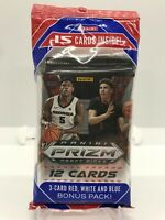 2020-21 PRIZM DRAFT PICKS BASKETBALL - CELLO/FAT PACK - LAMELO BALL RC / ROOKIE