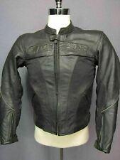 Alpinestars Black Leather Mens Jacket Size 38
