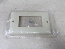 "NEW PS Ivory Cover No P/N Available w/ Screws 4-1/2"" x 2-3/4"" *FREE SHIPPING*"