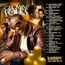 DJ ANT LO GROWN FOLKS SOUL & R&B CLASSICS MIX CD VOL 14