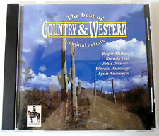 BEST OF COUNTRY & WESTERN - ROGER MILLER/ LYNN ANDERSON - CD Neuf (A1)
