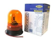 Ring Beacon Dual Voltage Amber Warning Light Lamp 3 Bolt Fixing Hazard RCV9910