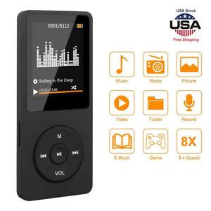 Portable Bluetooth MP3 Player Sport Music Speakers MP4 Media FM Radio Recorder