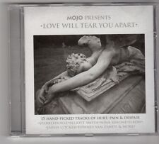 (GS336) Love Will Tear You Apart, 15 tracks various artists - 2007 - Mojo CD