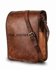 Laptop Shoulder Messenger Bag Leather Soft  Business Genuine Briefcase Handbag