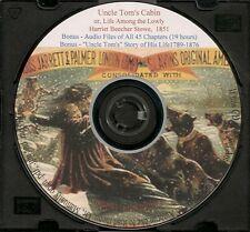 Uncle Tom's Cabin by Harriet Beecher Stowe  +audio + Autobio.Rev. Josiah Henson