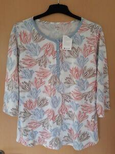 Calida Schlafanzug Oberteil Pyjama Shirt Nachthemd M Neu mit Etikett