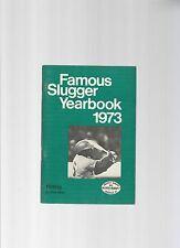 Original   1973   Louisville Slugger Famous Slugger Yearbook