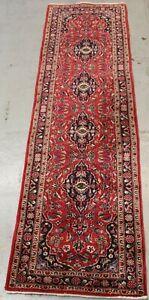 Old Handmade Parsian Traditional Runner 280cm x 79cm