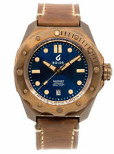 NEW BOLDR Odyssey BronzeBlue Bronze watch NH35A automatic