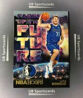2018-19 Hoops Winter, Luka Doncic RC, Faces Of The Future, Rookie #3, Mavericks