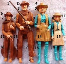 "1968 BEST OF WEST 12"" marx figure -- JOHNNY JANE HORSE INDIAN -- HAT RIFLE BELT"