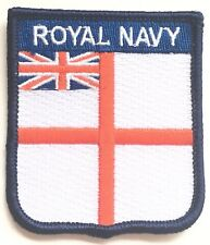Royal Navy Ensign Military Embroidered Patch