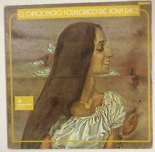 Joan Baez El Cancionero Folklorico De Joan Baez 2-LP España 1973  Gatefold