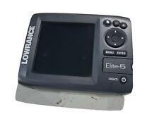 Lowrance Elite-5 Display Fishfinder Gps Chartplotter Replacement Head Unit Elite