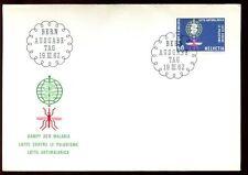 Switzerland 1962 WHO Malaria Eradication FDC #C6416