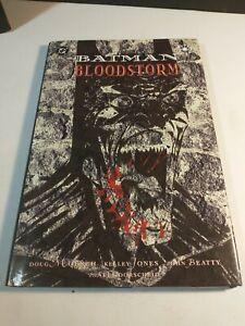 Batman Bloodstorm Hardcover  Vampire Dracula Red Rain Sequel - 1994
