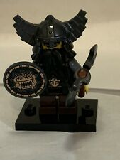 LEGO MINIFIG MINIFIGURE SERIES 5 EVIL DWARF WARRIOR LORD RINGS HOBBIT loose