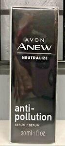 Avon Anew Neutralize Anti-Pollution Serum 1oz Sealed
